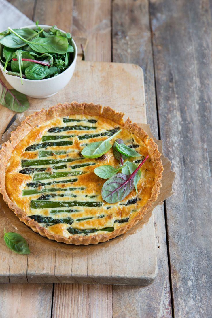 Tartes aux asperges et parmesan | Stephatable