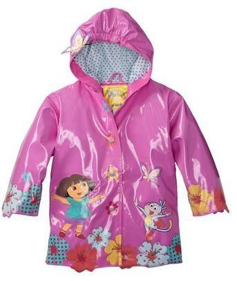 Nickelodeon Girls 2-6x Dora Raincoat