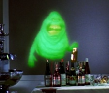 1. Slimer from Ghostbusters something Green @ the ScareFest