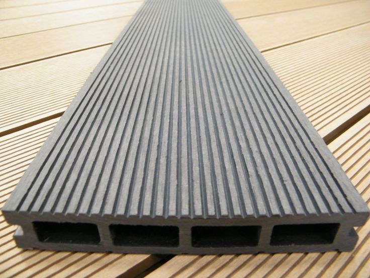 Wood plastic composite exterior decking and mouldings for Plastic composite decking