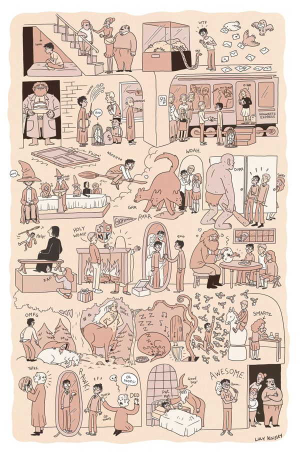 The Graphic Canon of Children's Literature: Comic Artists Reimagine Beloved Childhood Classics, from Tolstoy's Fairy Tales to Harry Potter | Brain Pickings
