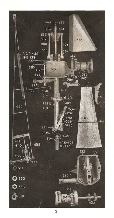 602 Parts Lists & Diagrams