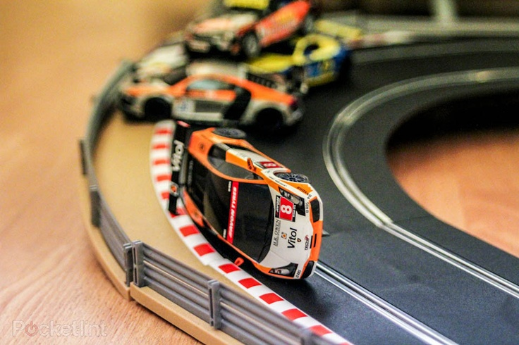 Scalextric - too cool for school.