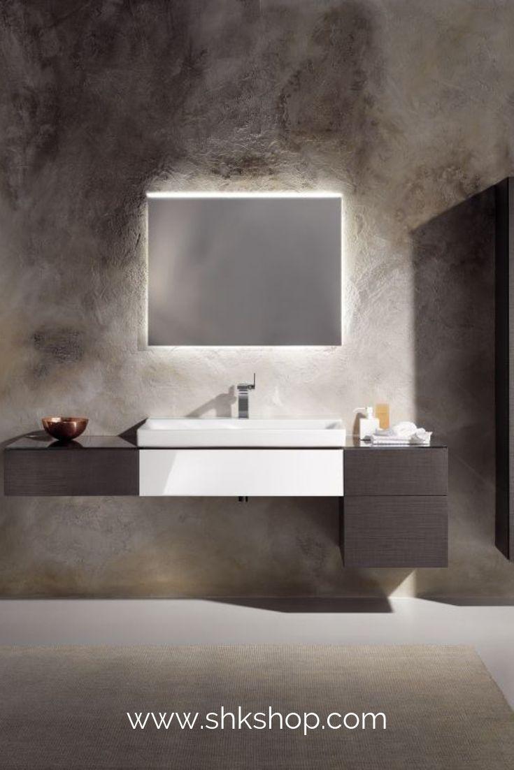 Keramag Xeno 2 Die Xeno 2 Badmobel Von Geberit Uberzeugen Mit Klaren Geometrischen Linien Durchdachten Elementen Und Ar Bad Einrichten Waschtisch Badezimmer