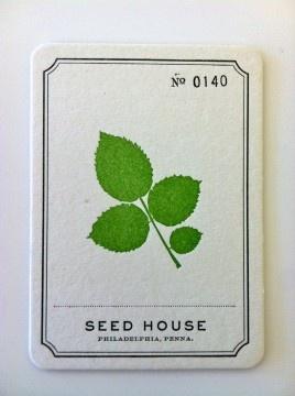 sweet leaf invitation