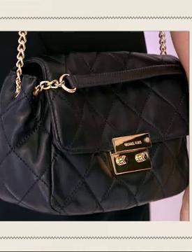 Le sac bandoulière Michael Kors de Carole