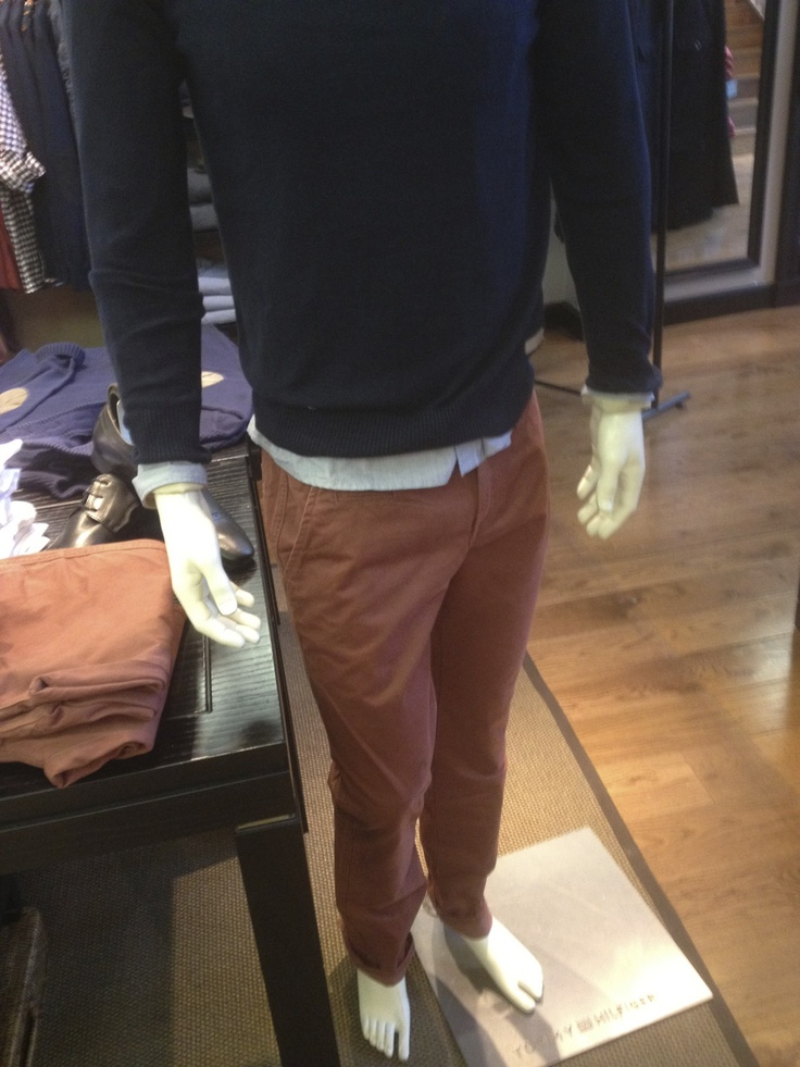 Just to show where the trousers were located (if the mannequin is still there)