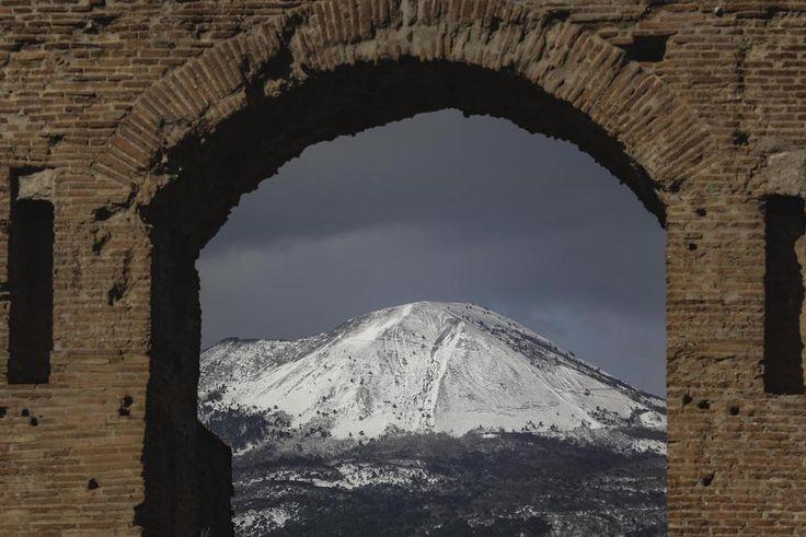 Le foto della nevicata nel Centro e Sud Italia - Il Post
