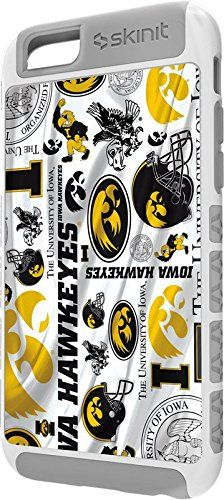 University of Iowa iPhone 6 Cargo Case - Iowa Hawkeyes Pattern Cargo Case For Your iPhone 6. Built To Last - Tough iPhone 6 Cargo Case Made With A Double Layer Hard Shell & Rubber Liner Protection. Offically Licensed Iowa, University of Case Design. Industry Leading Vivid Color Vinyl Print Technology. Textured Sidewalls - For Added Comfort & Enhanced iPhone 6 Grip. Precision iPhone 6 Fit - Increasing Protection Without Sacrificing Function.