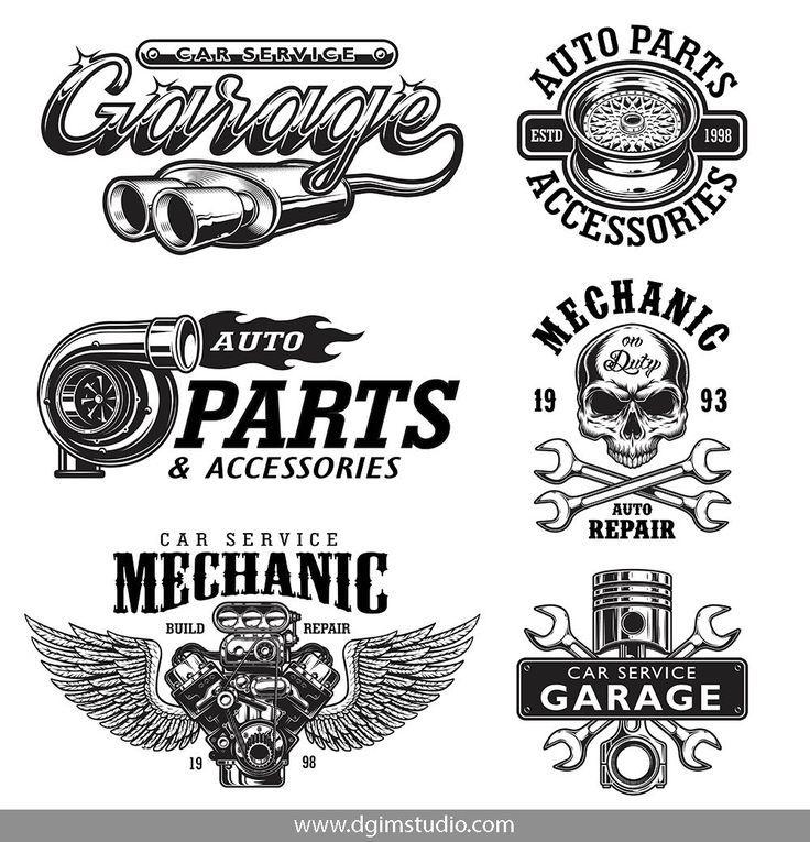 Car Service Garage Logo Car Logos Car Repair Service