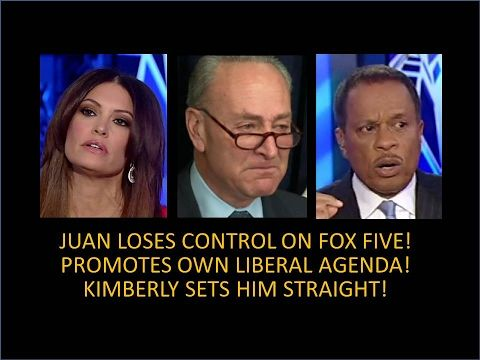 Juan Williams Loses Control On The Five! Promotes Own Liberal Agenda! Sucks The Air Out Of The Room! - YouTube