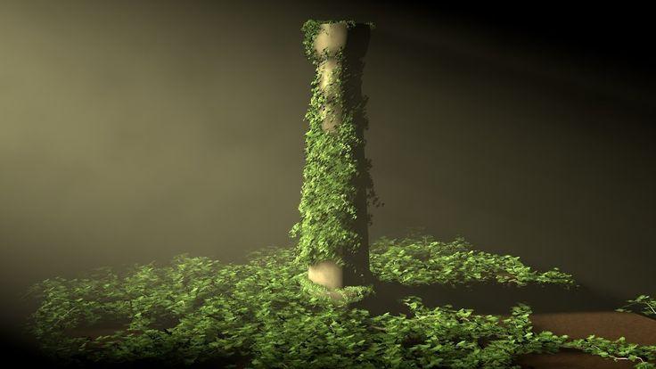 Tutorial Cinema 4D : Ivy Grower Plugin