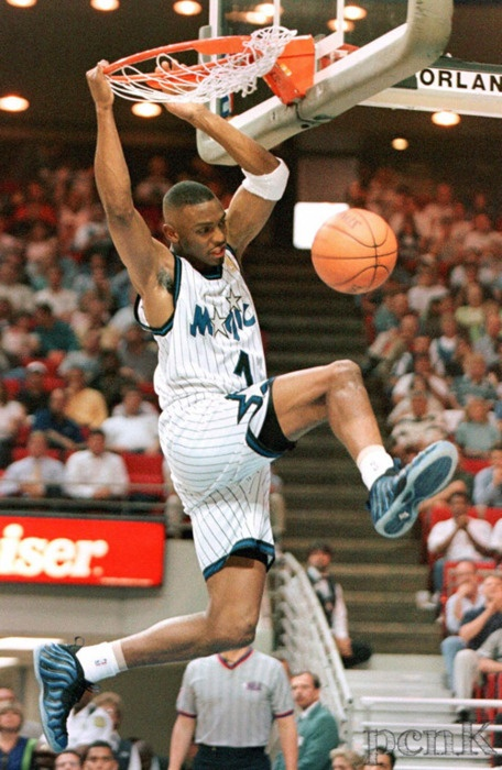 ca. '96. penny in foamposite 1c – a revolutionary sneaker. dope colorways sell out quickly today, faster than some retro Js