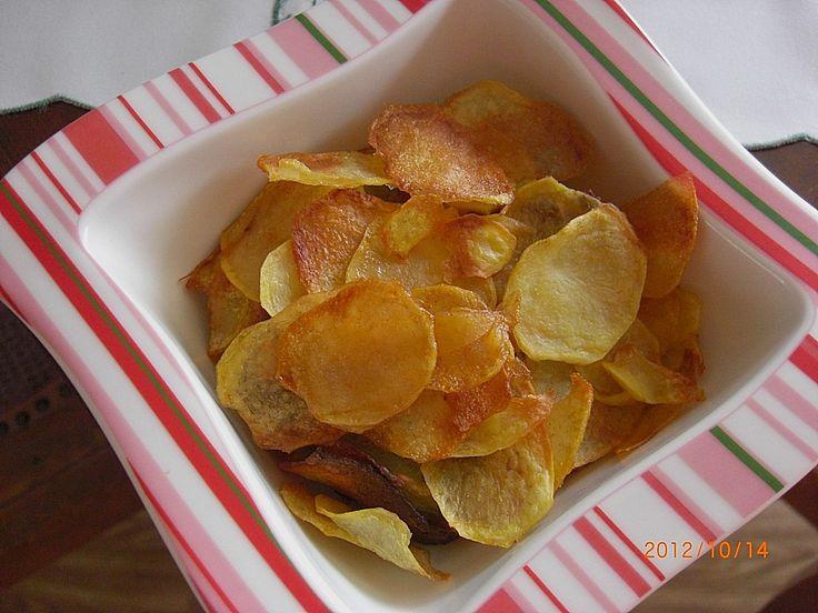 Kartoffelchips selbstgemacht (Rezept mit Bild) von Rocco165 | Chefkoch.de