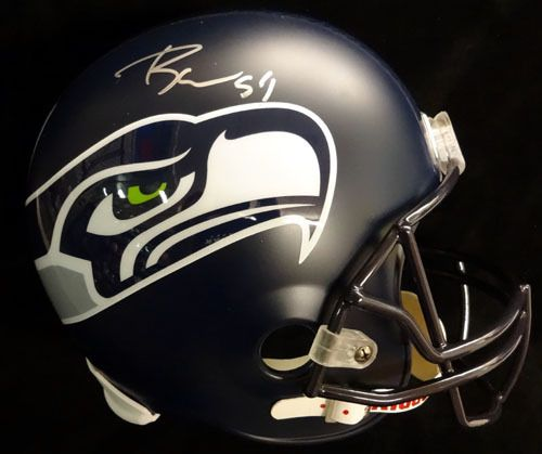 Bobby Wagner Autographed Seattle Seahawks Full Size Helmet