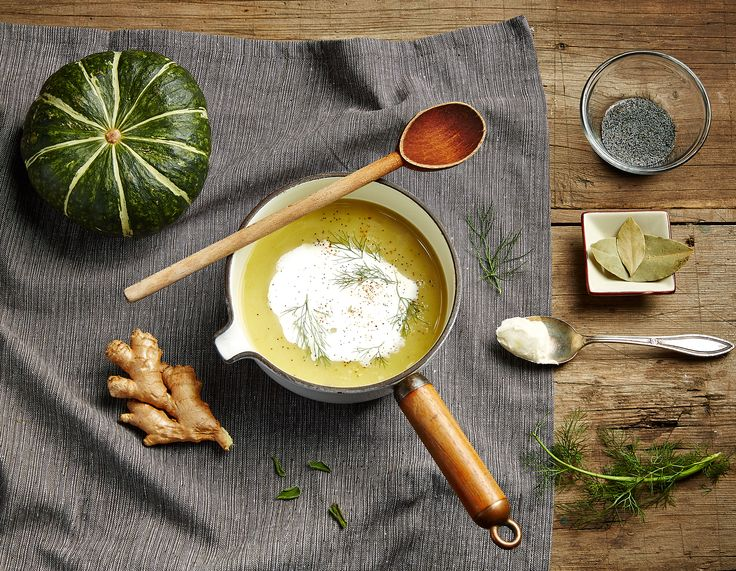 Squash, Fennel and Ginger soup