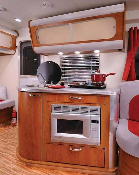 Marvelous Cute RV Kitchen. Would Be A Great Galley For A Sailboat