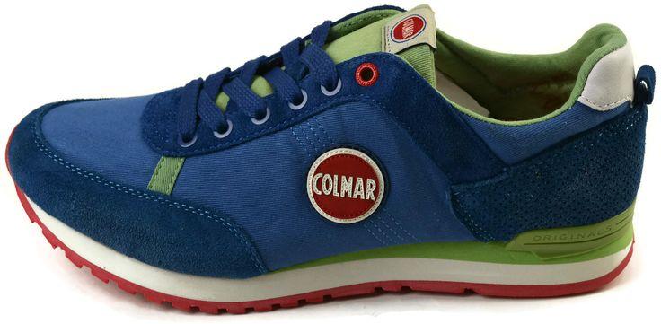 scarpe Colmar Originals TRAVIS COLORS116 ROYALE-GREEN