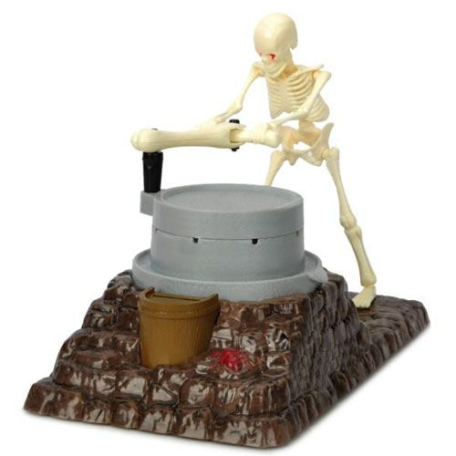 Skeleton Ghost Grinding Mill Money Saving Box Piggy Bank- Ideal Gift Item for Halloween