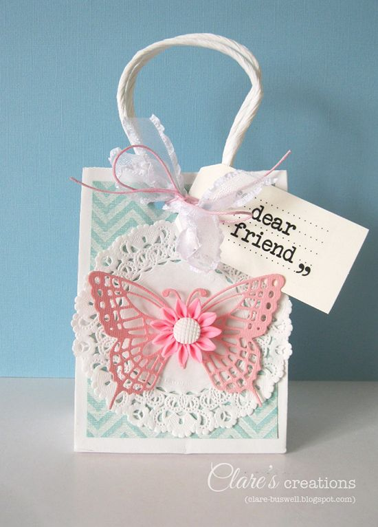 Core'dinations gift bag and tag | Clare's creations