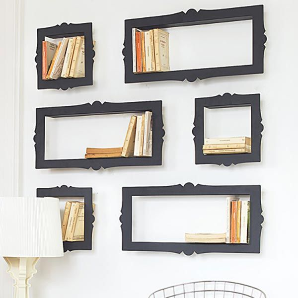 Picture Frame Bookshelf (http://blog.hgtv.com/design/2013/07/22/daily-delight-picture-frame-bookshelves/?soc=pinterest)