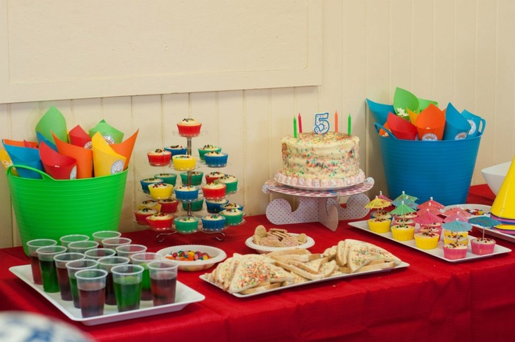 Party Table (Lilli's birthday)