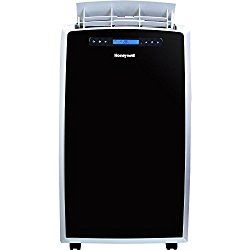 This 14,000 BTU portable air conditioner from Honeywell can efficiently cool areas of up to 550 square feet. It has a digital LED display, precision controls and a full-function remote control for ease of usage. The unit has a dehumidification capacity of up to 79.2 pints. With three speeds, auto timer, powerful air flow and quiet operation, this device is great for anywhere in the home.