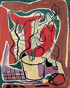 Roberto Burle Marx - Antúrios (1950)