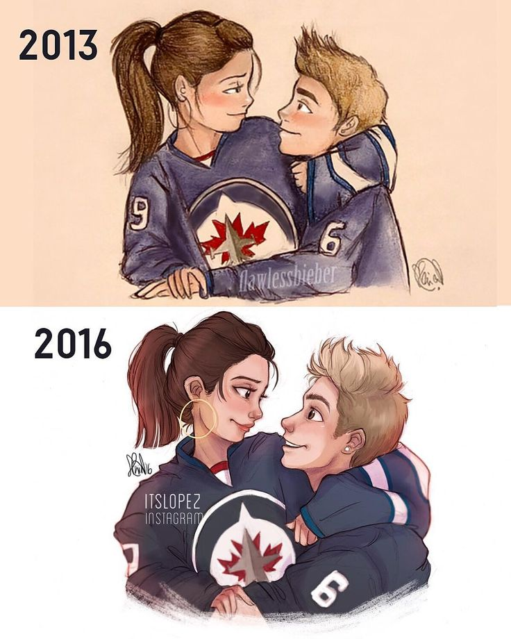 """""""Aaaand a little bit of a throwback... Still not quite sure if I made the top one in 2013 or 2012, but holy... Practise and dedication is all it takes, tbh…"""""""