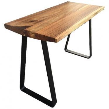 Les 25 meilleures id es de la cat gorie mange debout sur for Table haute bois massif