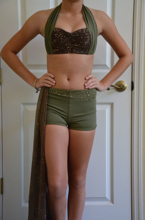 Contemporary dance costume by TerriC75 on Etsy
