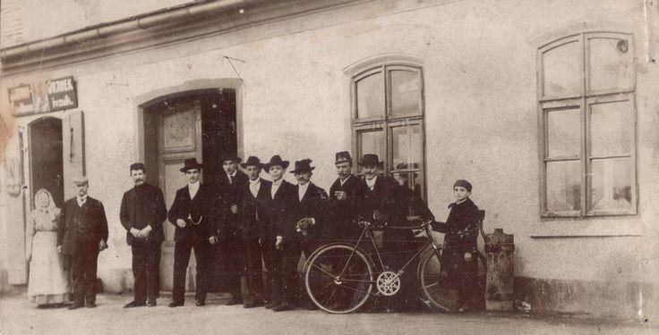 rok 1906 Nýřany, Beseda