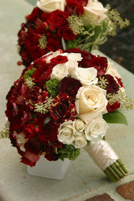 280 best Red Wedding Flowers images on Pinterest Red wedding