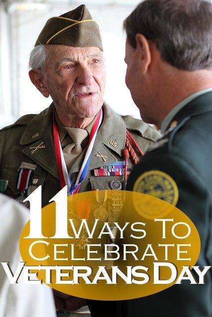 How do you plan to celebrate this year? Here are some ideas for activities to try at home, school and work. (The great thing is you don't have to reserve these activities just for Veterans Day... they are good for celebrating our veterans any day!)
