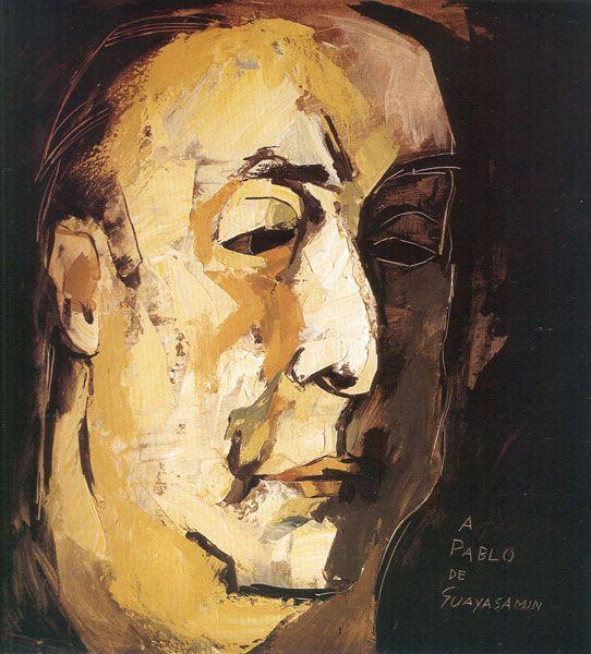 Retrato de Pablo Neruda.