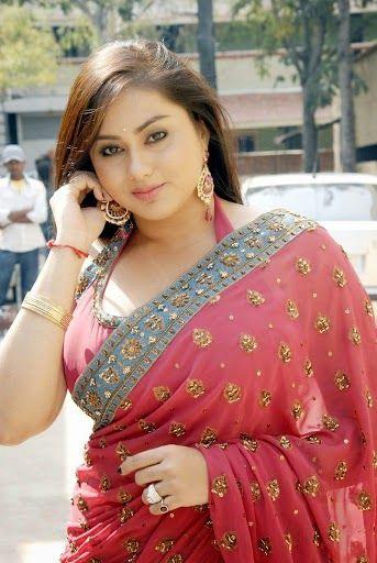 All About Tollywood: Namitha Gorgeous Saree Pictures | Namitha Charming...