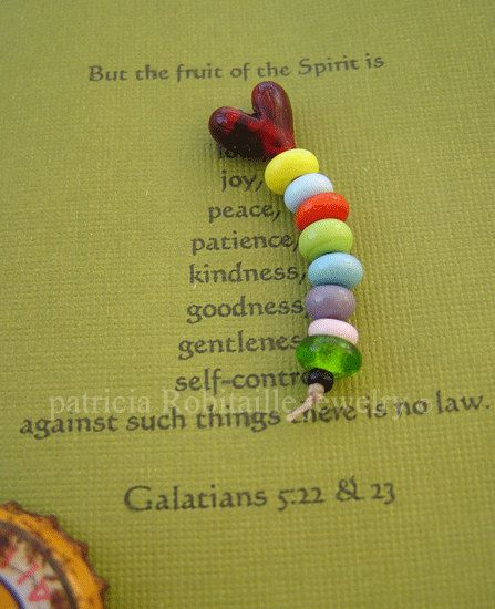 Fruits of the Spirit beaded Agape