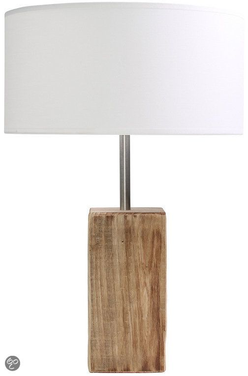 Mosso Tafellamp Stockholm Tafel Lamp S - Wit - Hout