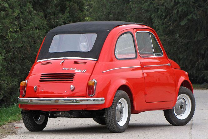 Labanc Fiat - Steyr Puch 500 DL (1959) veteránteszt