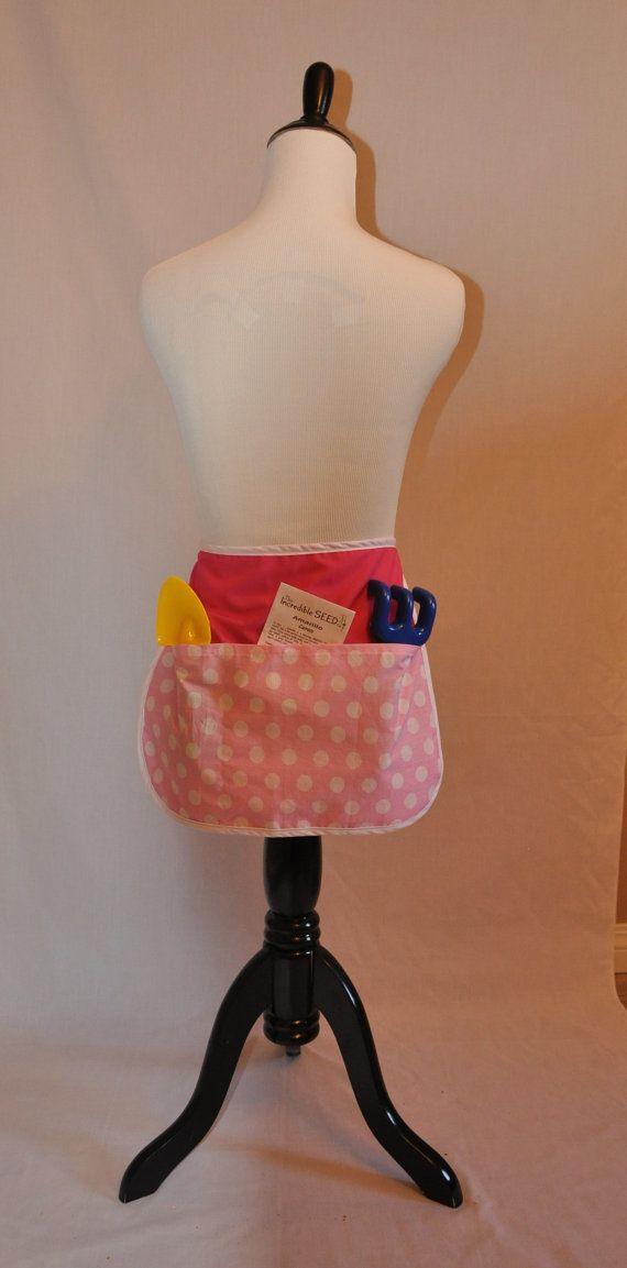 Child's half apron size medium by StitchesComeTrue on Etsy