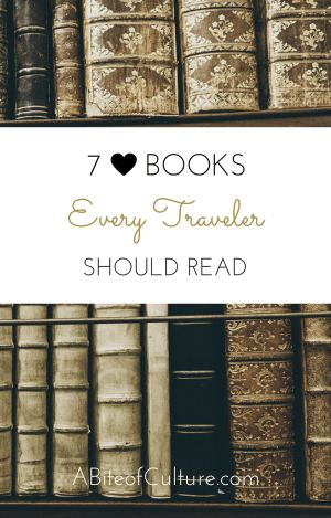 7 Books Every Traveler Should Read- Traveling brings a sort of personal awareness and understanding that begs to be explored further. Reading a good book and contemplating how it affects you and how you feel while reading it is arguably the best best way to get a better grasp on this newfound personal awareness. Here is the seven books you should read while exploring the world.