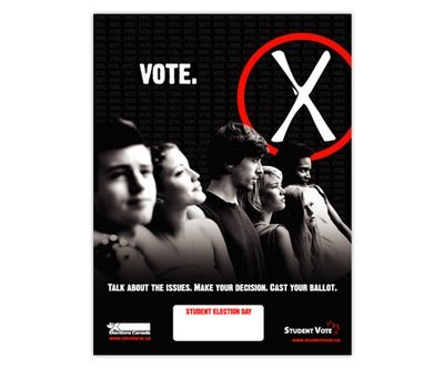 Student Vote 2006 Federal Election.