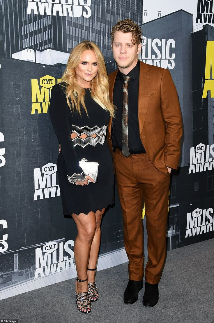 Leading the fashionable pack for this year's CMT Music Awards was Miranda Lambert, dressed in a black and silver mini dress with boyfriend Anderson East as her date