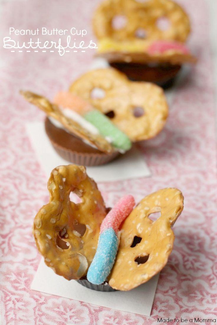Peanut Butter Cup Butterflies ..so cute!