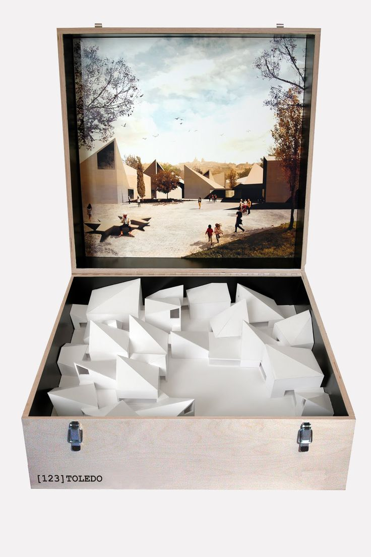 love-spain:  Michel Soskine (Madrid) 10 contemporary scale models of Spanish architects. Both for its strong artistic expression and their capacity for synthesis and analysis of the project, these models represent the living link between Art and Architecture.