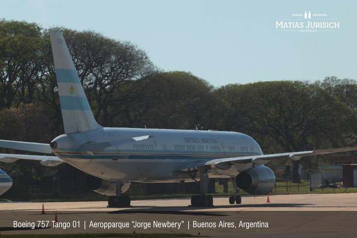 "Boeing 757 Tango 01 | Aeroparque ""Jorge Newery"" 