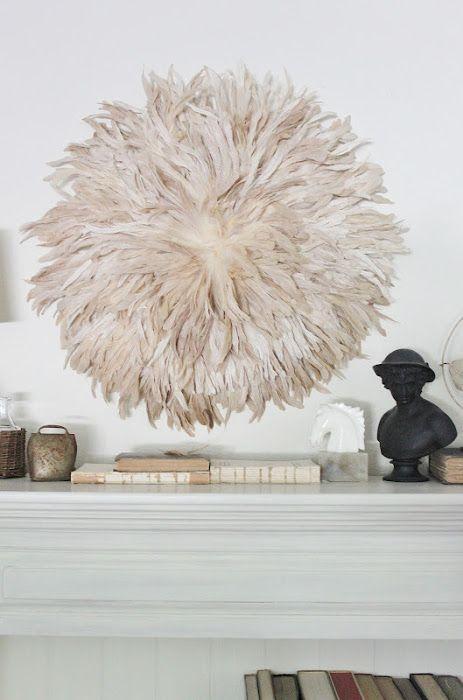DIY Feather African JuJu Hat Tutorial — Vintage Farm Furniture