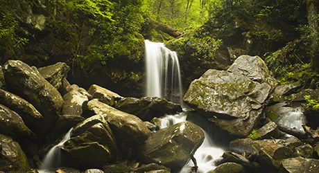 Smoky Mountain Waterfalls - The Smoky Mountains Waterfalls