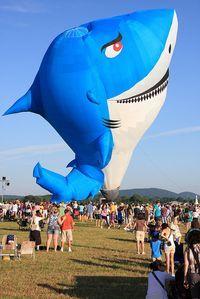 Shark Balloon from Brazil at the 2011 Quick Chek NJ Festival of Ballooning