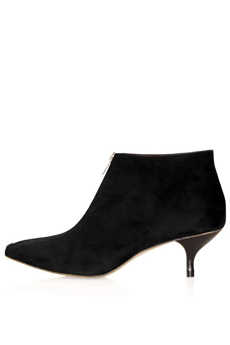 Love the Topshop APPLEBEE Kitten Heel Boots on Wantering | Winter